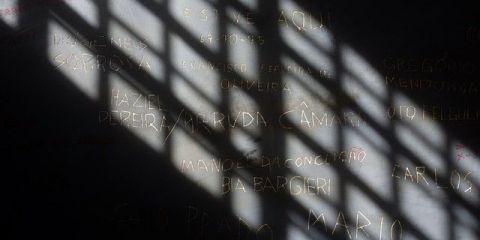 Bresil- Sao Paolo: Dans le musée de la dictature, les murs gardent les noms des personnes enfermé par le régime
