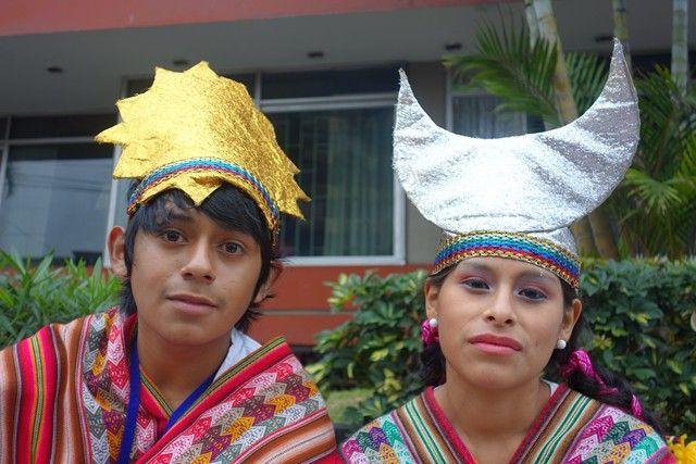 Perou-Lima: Fete de Miraflores.