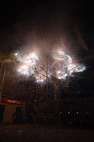 Perou-Huaraz: Feu d'artifice.