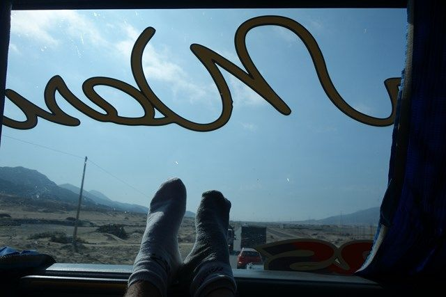 Pérou: C'est partie pour 21 heures de bus!!!
