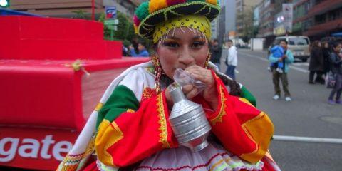 Perou: Fete de Miraflores à Lima