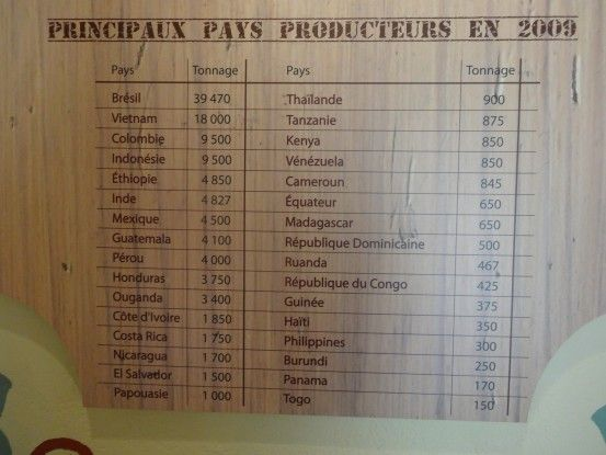 Nouvelle-Caledonie: Quels sont les plus grands pays producteurs de café.