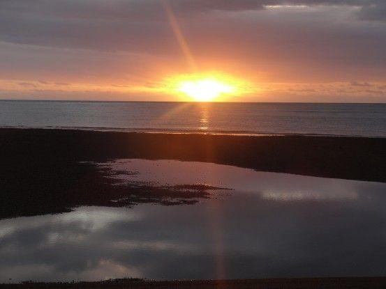 Nouvelle-Caledonie: Couché de soleil...et seul dans ma voiture! Snif