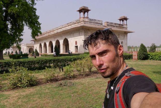 Grosse chaleur en Inde je cherchais les points d'eau photo voyage tour du monde https://yoytourdumonde.fr