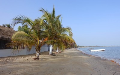 Plage de Carabane au Sénégal et Casamance photo blog voyage tour du monde https://yoytourdumonde.fr