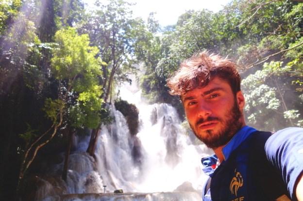 Laos luang prabang cascade Kuang Si falls photo blog voyage tour du monde https://yoytourdumonde.fr