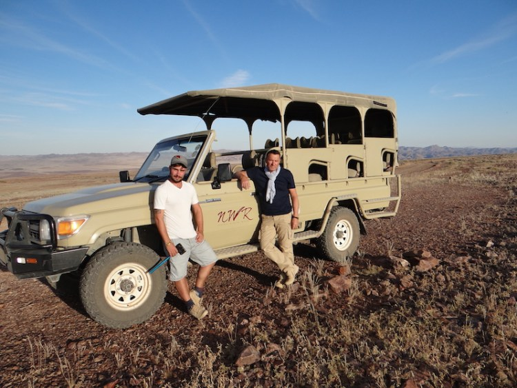 Visite du Fish River Canyon en 4x4 en Namibie photo blog voyage tour du monde travel https://yoytourdumonde.fr