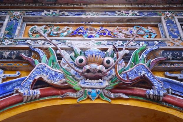 Art cité impériale de Hué au Vietnam photo blog voyage tour du monde https://yoytourdumonde.fr