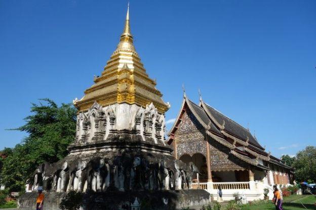 Temple Bouddhiste du cote de Chiang Mai