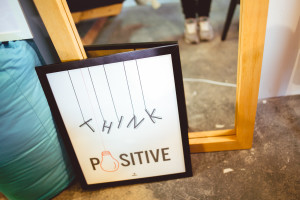 photo - Think Positive Poster