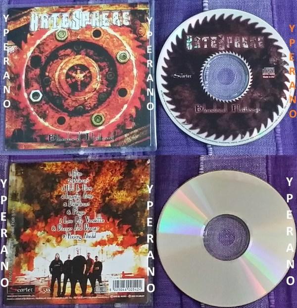 HATESPHERE: Bloodred Hatred CD PROMO. Thrash Metal! Very ...