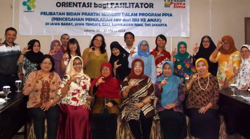 Pelibatan Bidan Praktik Mandiri dalam Program PPIA di 5 Provinsi