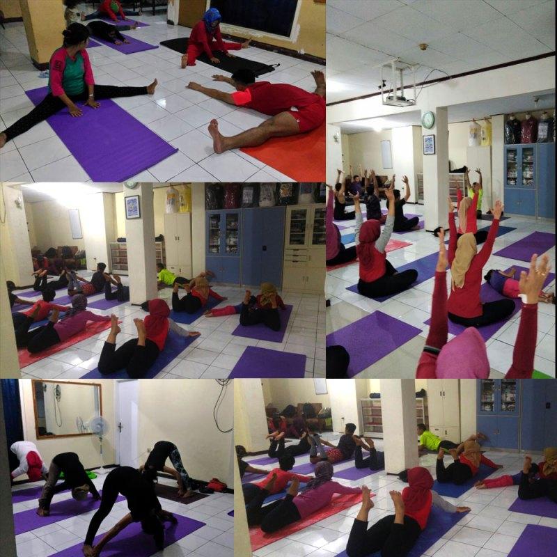 Mari Bersama, Sehat dengan Yoga di Sanggar YPI