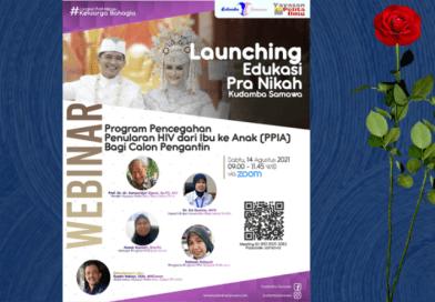 Launching Edukasi Pra Nikah Kudamba Samawa dan Webinar Program Pencegahan HIV AIDS dari Ibu ke Anak (PPIA) Bagi Calon Pengantin