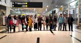 Pembina YPSA Melepas Edutour Jepang di Bandara Internasional Kualanamu