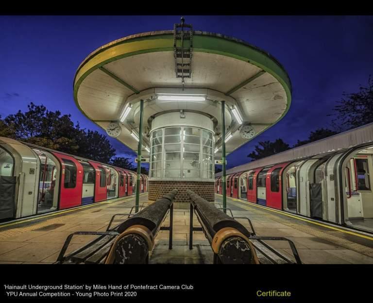 Pontefract Camera Club_Miles Hand_Hainault Underground Station