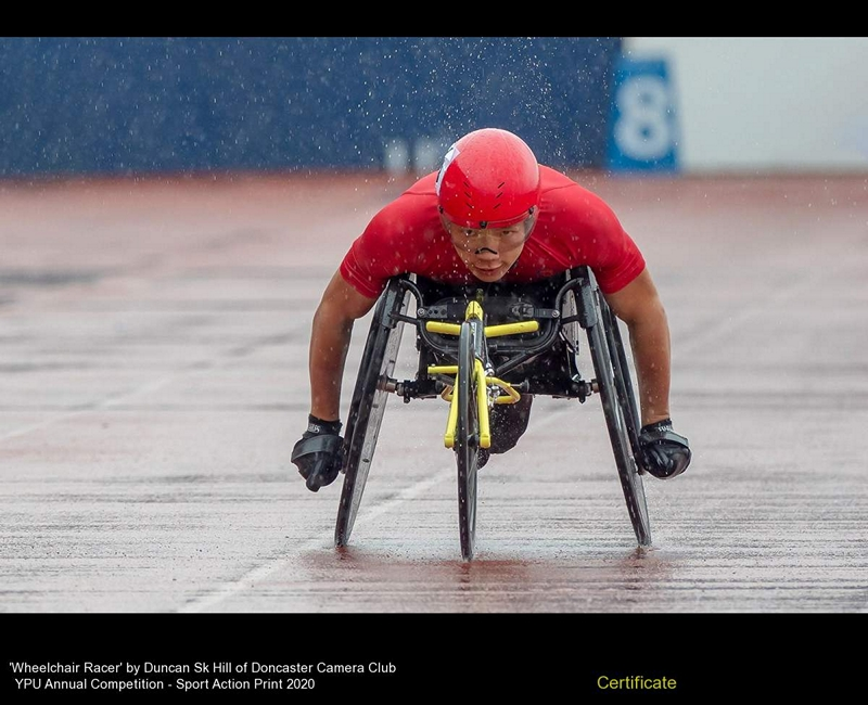 Doncaster Camera Club_Duncan Sk Hill_Wheelchair Racer
