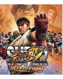 Super Street Fighter IV 4 3D Edition Nintendo 3DS