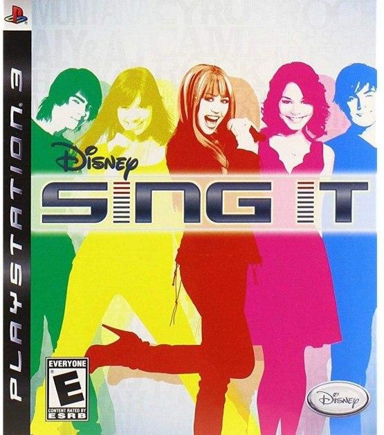 Disney Sing It (Playstation 3)