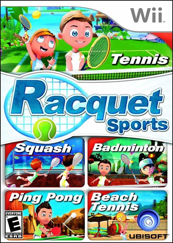 Racquet Sports - Nintendo Wii