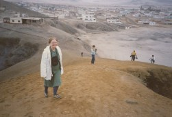 My mother in Lima's slum