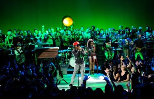 MTV2 Lil Wayne Unplugged 8 Photo credit Frank Micelotta 540x349 - Lil Wayne Goes Unplugged