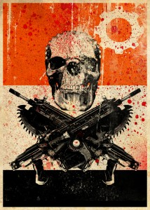 OG Slick Gears 3 Art Design 214x300 - Street Artist OG Slick X Gears of War 3