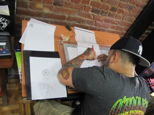 254781 151230694954715 149595955118189 284575 582074 n 540x405 - Hell Hounds Tattoo Grand Opening
