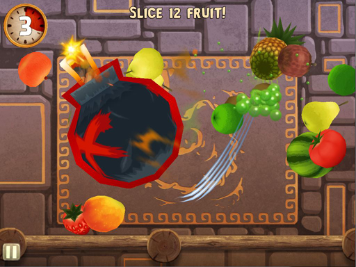 fnpib ipad bandito 02 - Game Review: Fruit Ninja; Puss in Boots