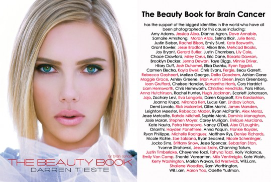 TBB roster 540x364 - The Beauty Book for Brain Cancer
