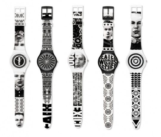 image001 540x461 - Swatch Announces Lorenzo Petrantoni and Fafi Limited Edition Artist Collaborations
