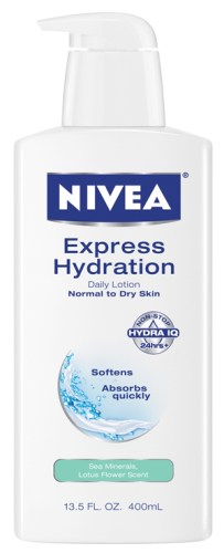 NIVEA Express Hydration Lotion1 - CONTEST: Nivea gift package