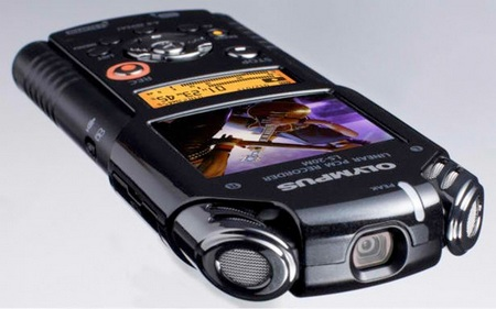 Olympus LS 20M HD Video Recording Audio Recorder Combo - Olympus  LS-20M Video Competition