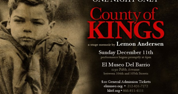 "County of Kings Evite11 - Lemon Anderson Presents ""County of Kings"" at El Museo Del Barrio"