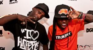 Stevie and Lil Wayne - Event Recap: Stevie Williams & Lil' Wayne Unveil New Clothing Lines