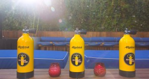 Watch Gift Box Oxygen Tanks - Event Recap: Alpina Watches Cabana Party Celebration