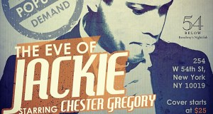 """image - Chester Gregory in """"The Eve of Jackie"""""""