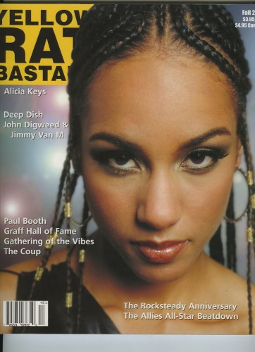 Fall 2001 Alicia Keys - Print Magazine Covers 1999-2018
