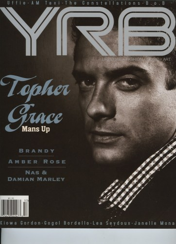 Issue 103 Summer Topher Grace - Print Magazine Covers 1999-2018