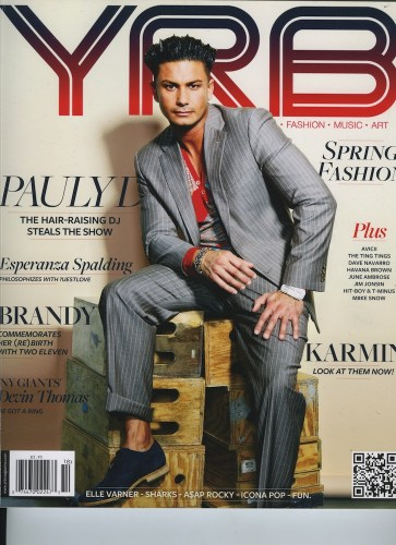 Issue 1062 Fashion  Music Issue Pauly D - Print Magazine Covers 1999-2018