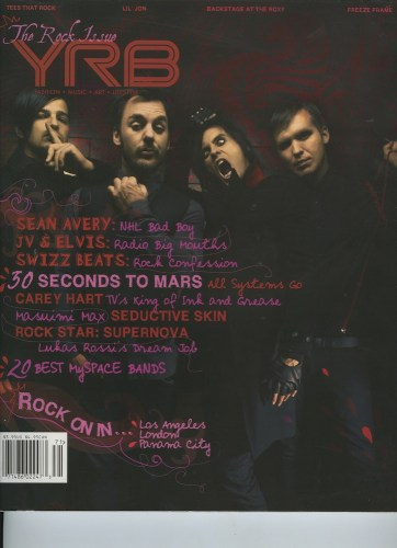 Issue 107 The Rock Issue 0 Seconds to Mars - Print Magazine Covers 1999-2018
