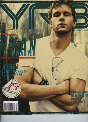 Issue 203 The Travel Issue Ryan Kwanten - Print Magazine Covers 1999-2020