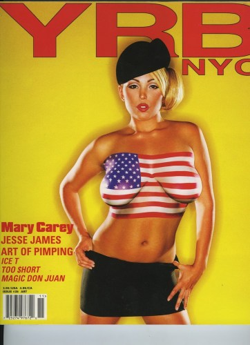 Issue 35 Art Mary Carey - Print Magazine Covers 1999-2018