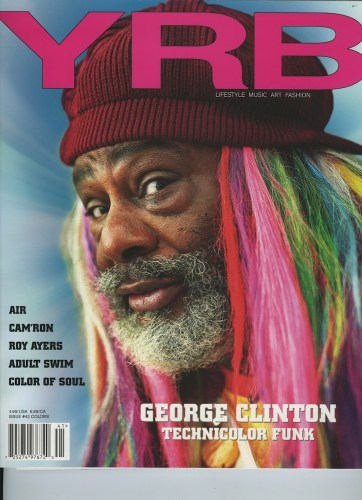 Issue 42 Colors George Clinton - Print Magazine Covers 1999-2018