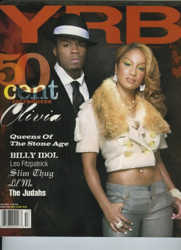 Issue 53 My June 2005 50 Cent and Olivia - Print Magazine Covers 1999-2018