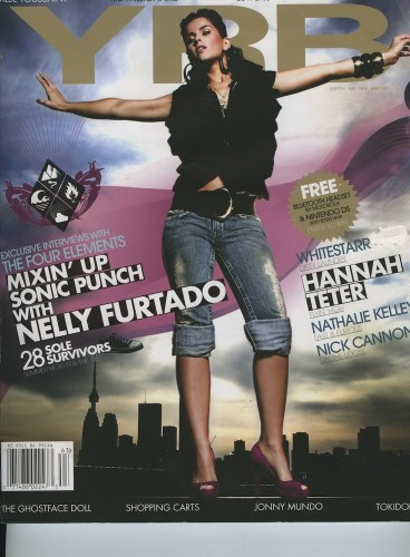Issue 63 The 4 Elements Nelly Furtado - Print Magazine Covers 1999-2018