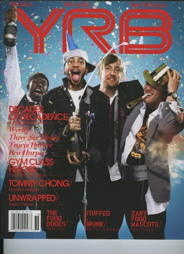 Issue 76 The Food Issue Gym Class Heroes  - Print Magazine Covers 1999-2018