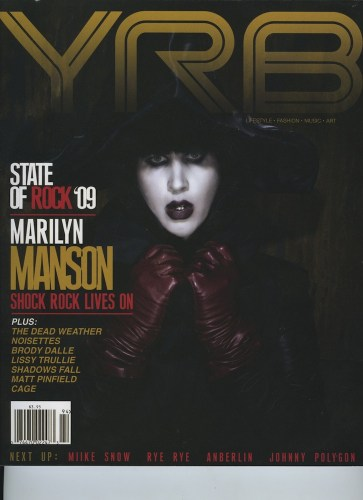 Issue 94 Rock Issue Marilyn Manson - Print Magazine Covers 1999-2018