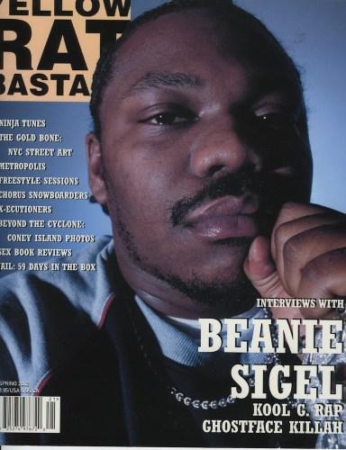Spring 2002 Beanie Sigel - Print Magazine Covers 1999-2020