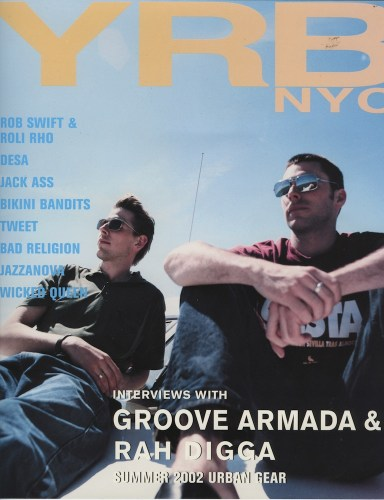 Summer 2002 Urban Gear Groove Armada - Print Magazine Covers 1999-2018